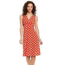 Ronni Nicole® Surplice Dot Dress
