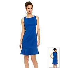 AGB® Ruffle Trim Sheath Dress