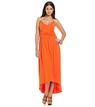 Lennie Bead Strap Knit Maxi Dress