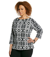 Ruby Rd.® Plus Size Printed Top