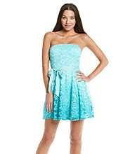 As U Wish® Juniors' Lace Ombre Party Dress