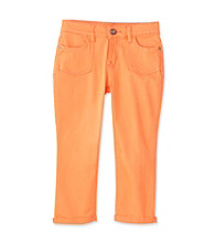 Jessica Simpson Girls' 7-16 Coral Nightingale Double Roll Crops