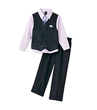 Nautica® Boys' 2T-7 Navy 3-pc. Vest Set