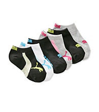 PUMA® Girls' Assorted 6-pk. Runner Socks