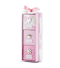 Cuddle Bear® Baby Girls' Pink 3-pc. Memory Gift Set