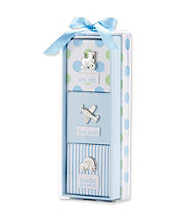 Cuddle Bear® Baby Boys' Blue 3-pc. Memory Gift Set