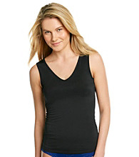 Relativity® Black Reversible Camisole Slip