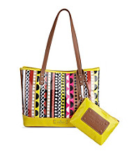 Nine West® Pink Multi Can't Stop Shopper Medium Shopper