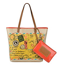 Nine West® Postcard Large Tote
