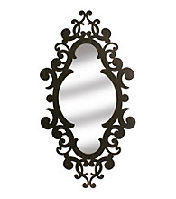 Veritime Laser Cut Scroll Mirror