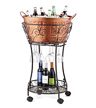 LivingQuarters Beverage Cart with Storage
