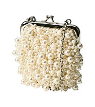 Jessica McClintock® Ivory Evening Bag