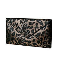 Jessica McClintock® Leopard Evening Bag