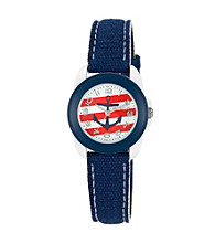 Sprout® Nautical Themed Blue Organic Cotton Eco-Friendly Sprout Watch