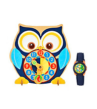 Sprout® Blue Eco-Friendly Sprout Watch and Time Teacher Set