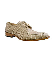 Giorgio Brutini® Men's Moc-toe Oxford Croco Print Dress Shoe
