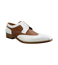 Giorgio Brutini® Men's Wing-tip Spectator White-toe Dress Shoe