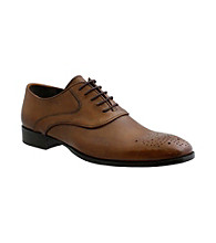 Giorgio Brutini® Men's Plain-toe Perf Medallion Dress Oxford