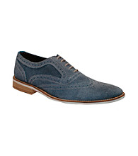 Giorgio Brutini® Men's Casual White Bottom Wing-tip Oxford