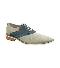 Giorgio Brutini® Men's White Bottom Casual Saddle Oxford