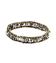 Nine West Vintage America Collection® Two Tone Stretch Bracelet