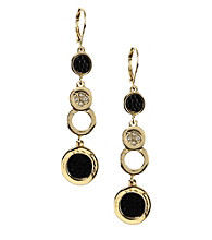Anne Klein® Goldtone Linear Earrings
