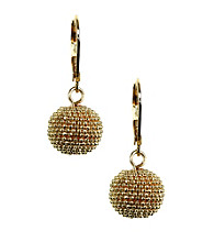 Anne Klein® Goldtone Ball Drop Earrings