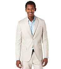 Perry Ellis® Men's Stone Slim Twill Sports Jacket