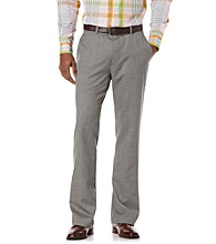 Perry Ellis® Men's Castle Rock Slim Flat Front Pant