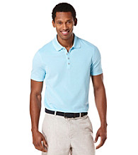 Perry Ellis® Men's Azzurro Short Sleeve Iridescent Polo