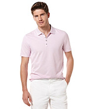 Perry Ellis® Men's Rosa Short Sleeve Irridescent Polo