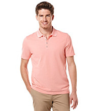Perry Ellis® Men's Emberglow Short Sleeve Irridescent Polo