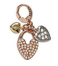 Fossil® Multi-Colored Heart Cluster Charm