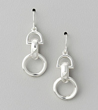 Lauren Ralph Lauren Silvertone Earrings