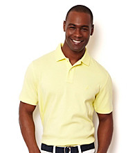 Nautica® Men's Short Sleeve Solid Interlock Polo