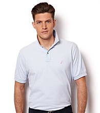 Nautica® Men's Short Sleeve Fine Striped Polo