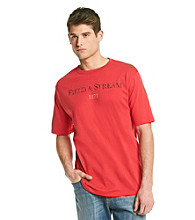 Field & Stream® Men's Red Coral F & S Logo Graphic Tee