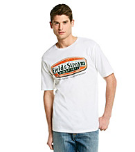 Field & Stream® Men's Short Sleeve White