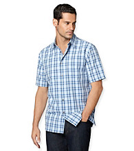 Van Heusen® Men's Short Sleeve Cotton Pucker Woven