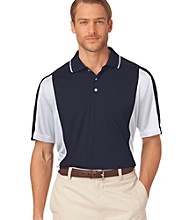 Chaps® Men's Short Sleeve 'Torry Pines' Color Block Golf Polo