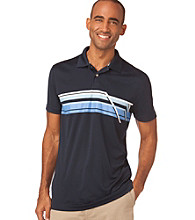 Chaps® Men's Night Sky Short Sleeve Augusta Lake Striped Golf Polo