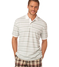 Chaps® Men's Summer Mint Short Sleeve San Miguel Striped Polo