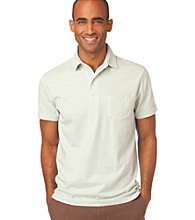 Chaps® Men's Summer Mint Short Sleeve Havana Lounge Polo