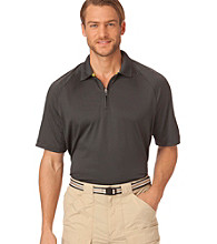 Chaps® Men's Tar Short Sleeve Solid Cenote Performance Polo