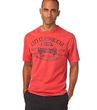 Chaps® Men's Cardinal Red Classic Short Sleeve Car Tee