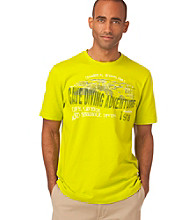 Chaps® Men's Limade Short Sleeve Cave Diving Tee