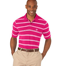 Chaps® Men's Big & Tall Short Sleeve Striped Bay Point Polo