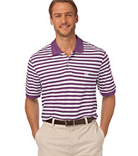 Chaps® Men's Big & Tall Short Sleeve Jamaica Cove Striped Polo