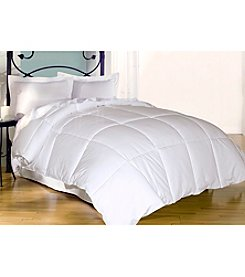 Blue Ridge Home Fashions 240-Thread Count White Goose Down and Feather Comforter