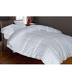 Blue Ridge Home Products Near Nature Cotton Woven Caban Stripe Down-Alternative Comforter